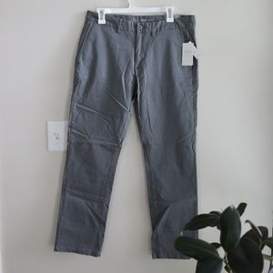 NWT Old Navy - Ultimate Slim Gray Pants 32x30